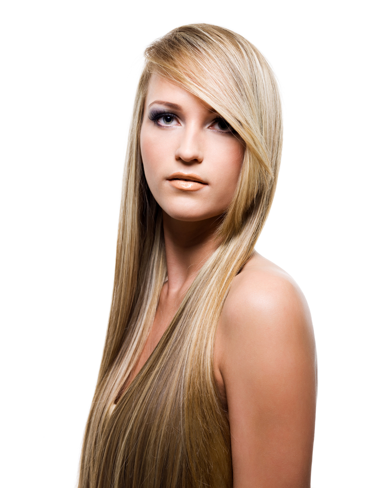 Attractive woman with beauty long hair